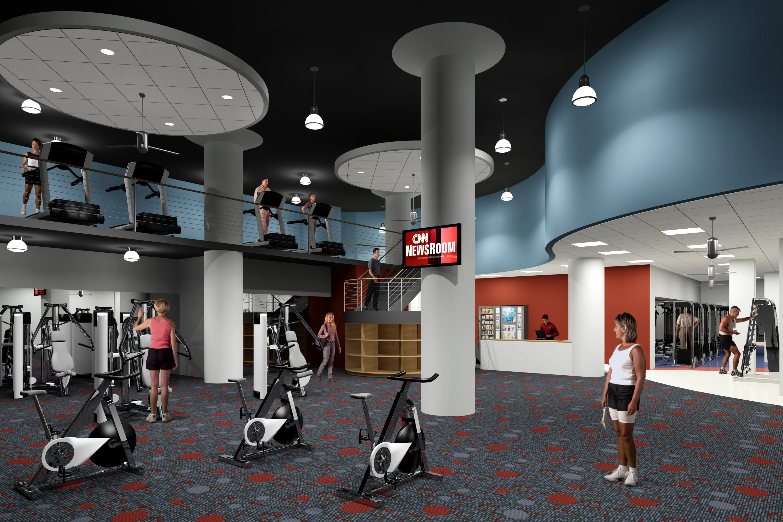 Santa Fe Building Fitness Center