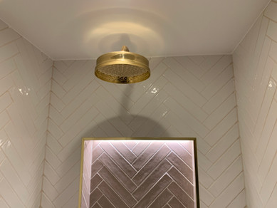 Lefroybrooks Gold Shower head