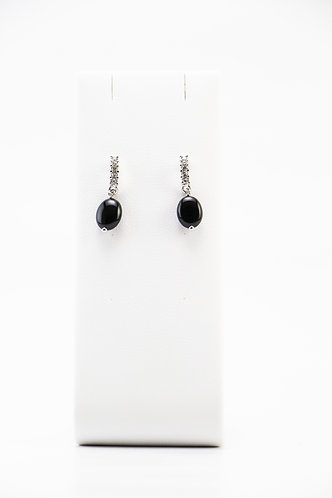 The Pinnacles Collection - Small Onyx Earrings