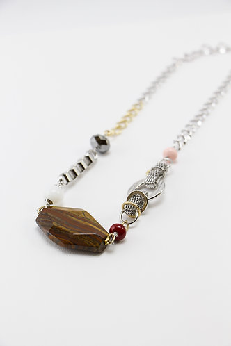 The Pinnacles Collection - Iron Tiger Eye Long Necklace