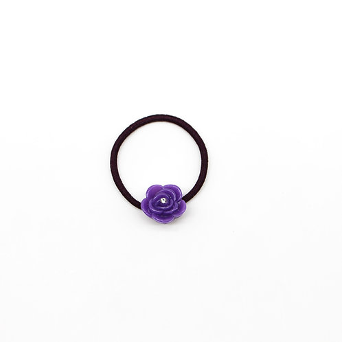 Hair Tie with Small Carnation