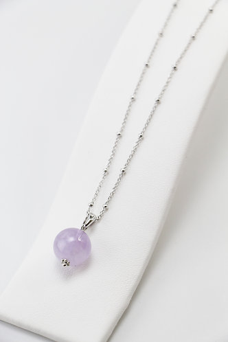 The Pinnacles Collection - Lavender Amethyst Bead Necklace