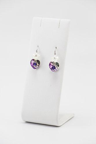 The Pinnacles Collection - Vitriol Light Heart Earrings