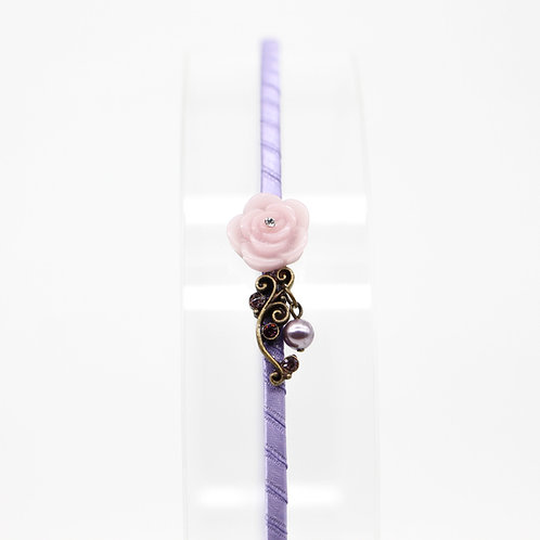 Hairband with Carnation and Pearl