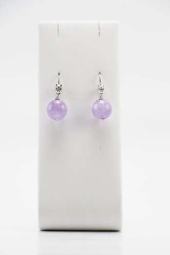 The Pinnacles Collection - Lavender Amethyst Earrings