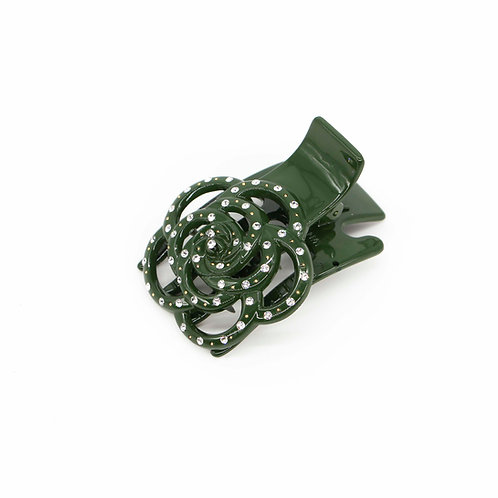 Jennifer Jaw Clip with Swarovski Crystals (Large) - Various Colours