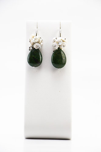 The Pinnacles Collection - Chalcopyrite Petal Earrings