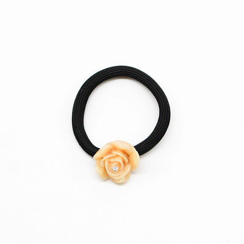 Hair Tie with Large Rose