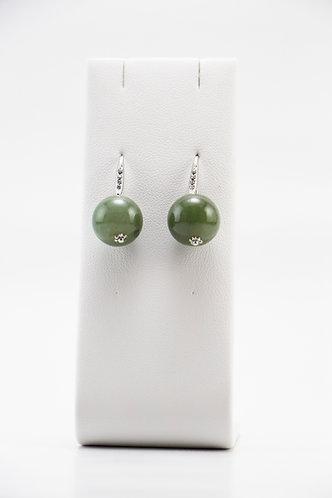 The Pinnacles Collection - Burmese Jade Earrings