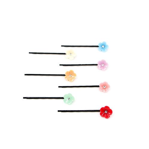 Small Cherry Blossom Bobby Pin