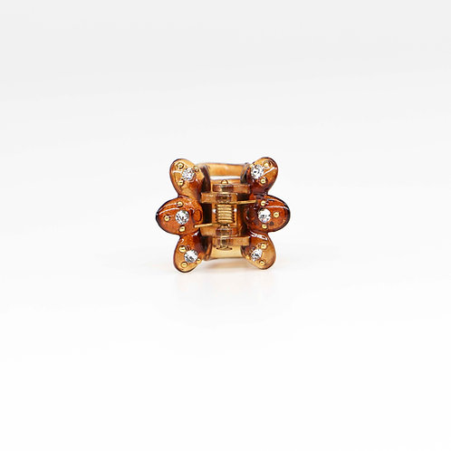 Alicia Jaw Clip with Swarovski Crystals (Mini)