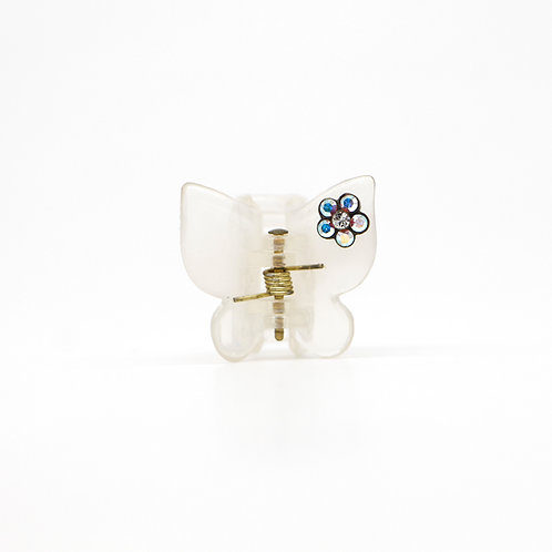 Small Bella Jaw Clip with Swarovski Crystal Flower