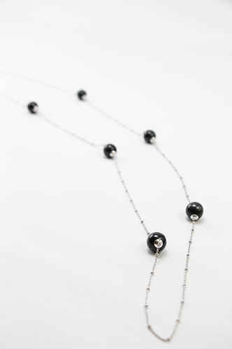 The Pinnacles Collection - Blue Tiger Eye Beads Long Necklace