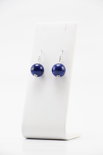 The Pinnacles Collection - Short Lapis Earrings