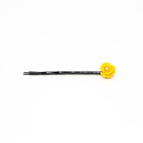 9mm Rose Bud Bobby Pin