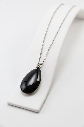 The Pinnacles Collection - Large Onyx Necklace