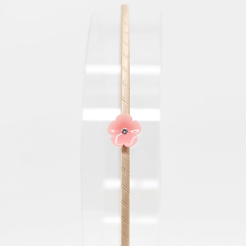 Hairband with Cherry Blossom (Neutral Colours)