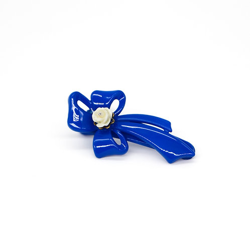 Rebecca Alligator Clip with Rose Bud (Various Colours)