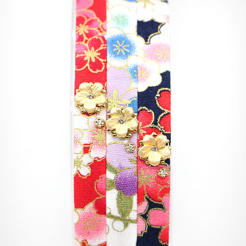 Haru Collection: Hairband with Gold-plated Sakura