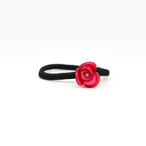 Hair Tie with Small Tulip