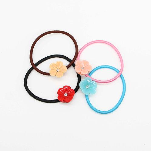 Hair Tie with Medium Cherry Blossom