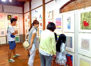 「NBCメッシュテック・シルクスクリーン 菊川巡回展」活動報告