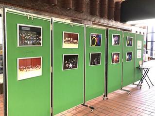 活動の様子を市役所でパネル展示しました!