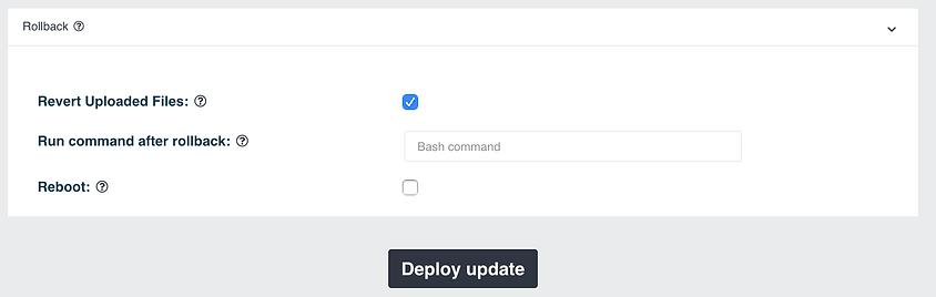 software update deployment  - rollback.p