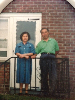 Dad & Mom at Stamford CT-1993