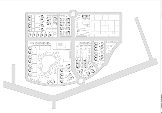 BASIC CONCEPT SITE PLAN  - 2D DRAWING