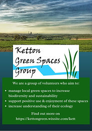 poster version 2 Ketton Green Spaces Gro