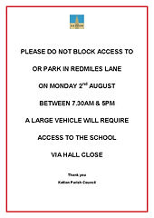 Parking in Redmiles Lane 2 August, 2021.jpg
