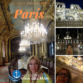 """París  """"La ville du Lumière"""""""