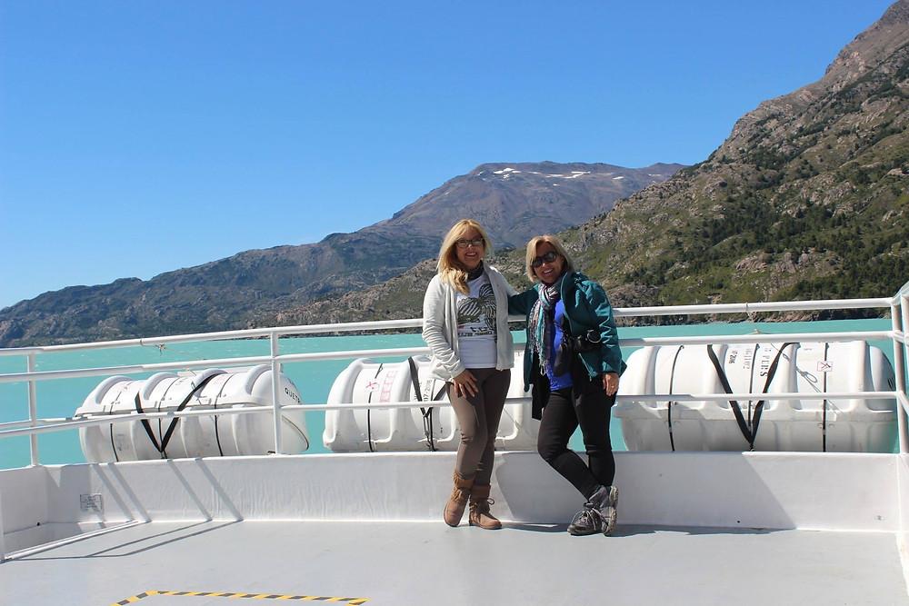 A bordo rumbo al Glaciar O'Higgins Condesa de Mar