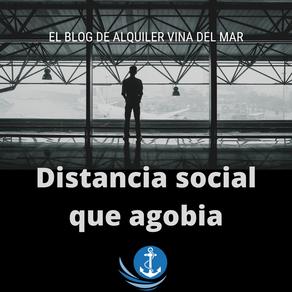 Distancia social que agobia