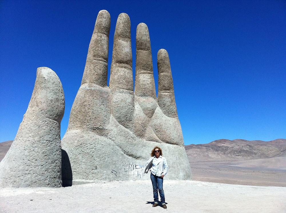 La Mano del Desierto Antofagasta Blog de Condesa de Mar