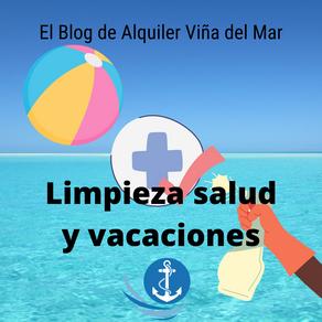 Limpieza salud y vacaciones