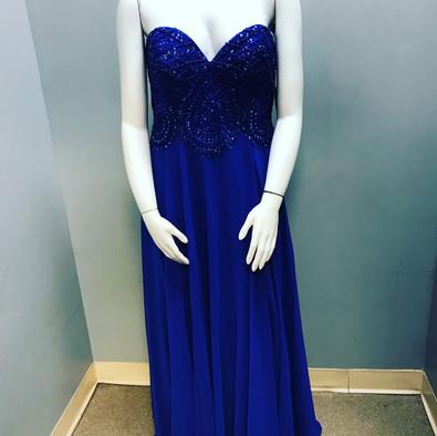 Royal Blue Formal