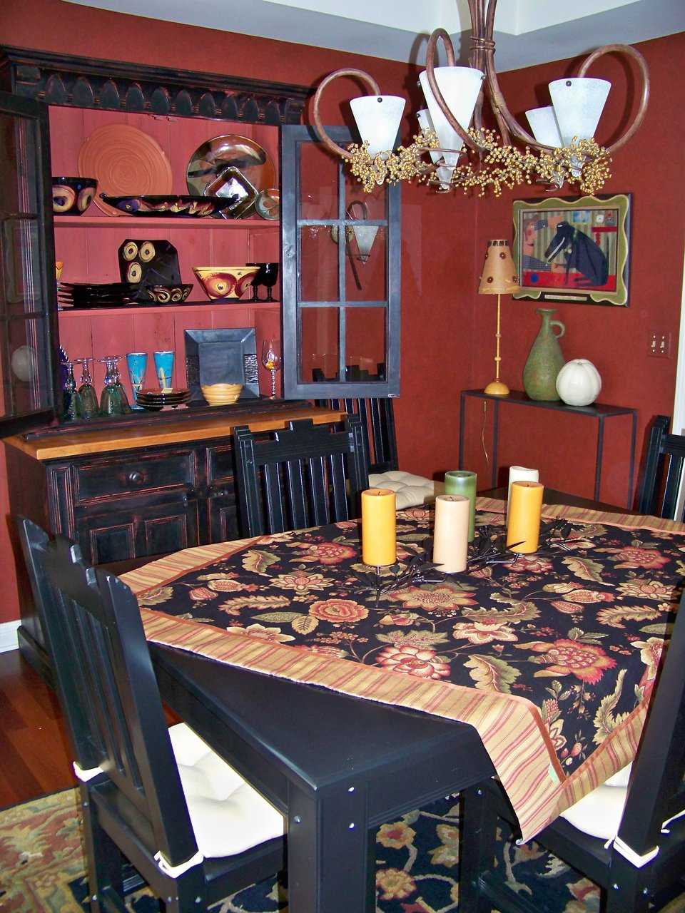 Pottery Barn Style Tablescape