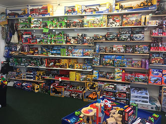 Various boys toys, leg and cars for sale in ALleykat toyshop in Bridgnorth, Shropshire