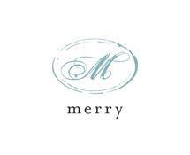 merry(メリー) 様 美容室ロゴ