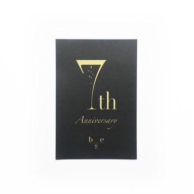 Restaurant be 様 7周年DM