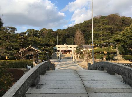 2月の一日参りと守護神の話。@鶴羽根神社 広島
