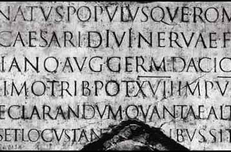わたしがよく使う英文フォントその4。Trajan | トレイジャン 【フォント】