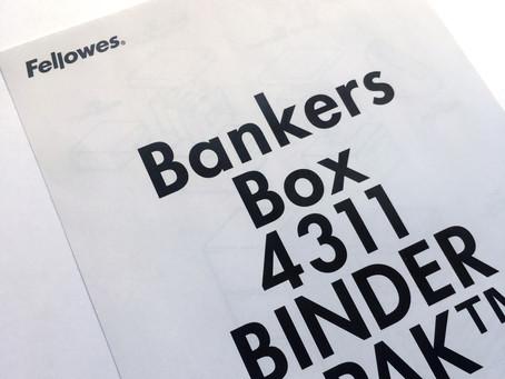 実行する日を決める。〜 Fellowes | フェローズのBankers Box | バンカーズボックスで整理整頓 〜