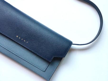 お気に入りのものを身につける。〜 バッグ編 〜 @marni | マルニ お財布バッグ