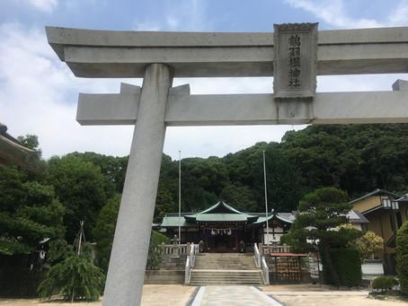 5月の十五日参り。@鶴羽神社 広島
