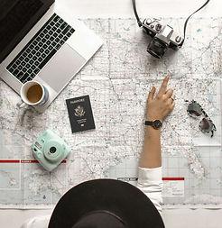 carte-appareil-photos-étudiante-études-étranger