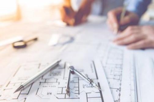 plan-dessin-compas-chantier-architecte