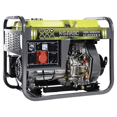 Stromerzeuger K&S Basic KS 8000DE ATSR